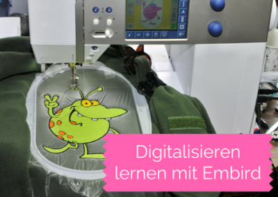 Video-Kurs: Digitalisieren lernen mit Embird Studio