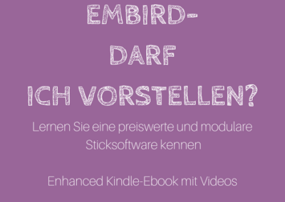 Kindle-Ebooks mit Videos zur Sticksoftware Embird